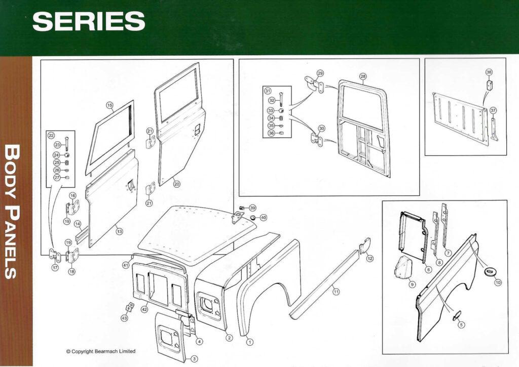 Land Rover restauratie delen