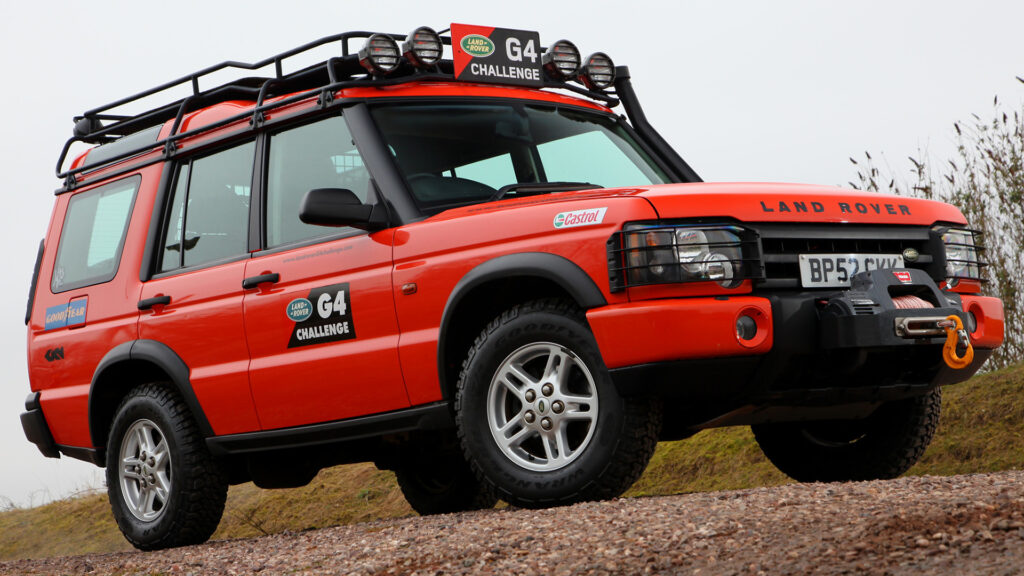 Land Rover Safety Devices rolkooien