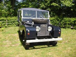 Land Rover Series 1 rijkswacht