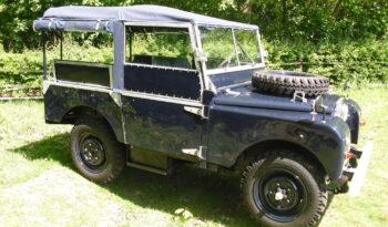 Land Rover Serie 1 80″ Rijkswacht uit 1951 vol