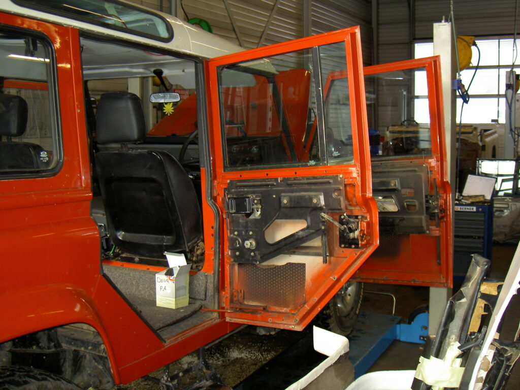 Land Rover Defender 110 restauratie