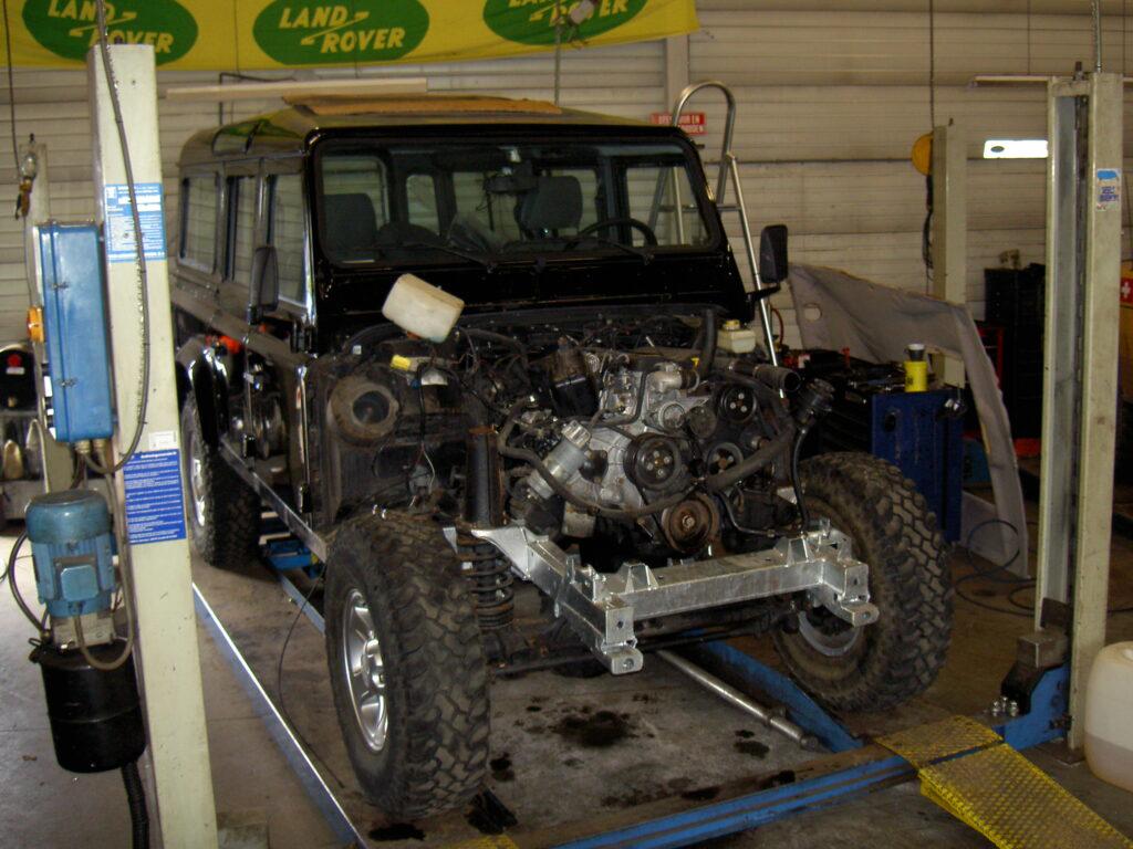 Jansen_Laro_Parts_chassis_wissel_Defender