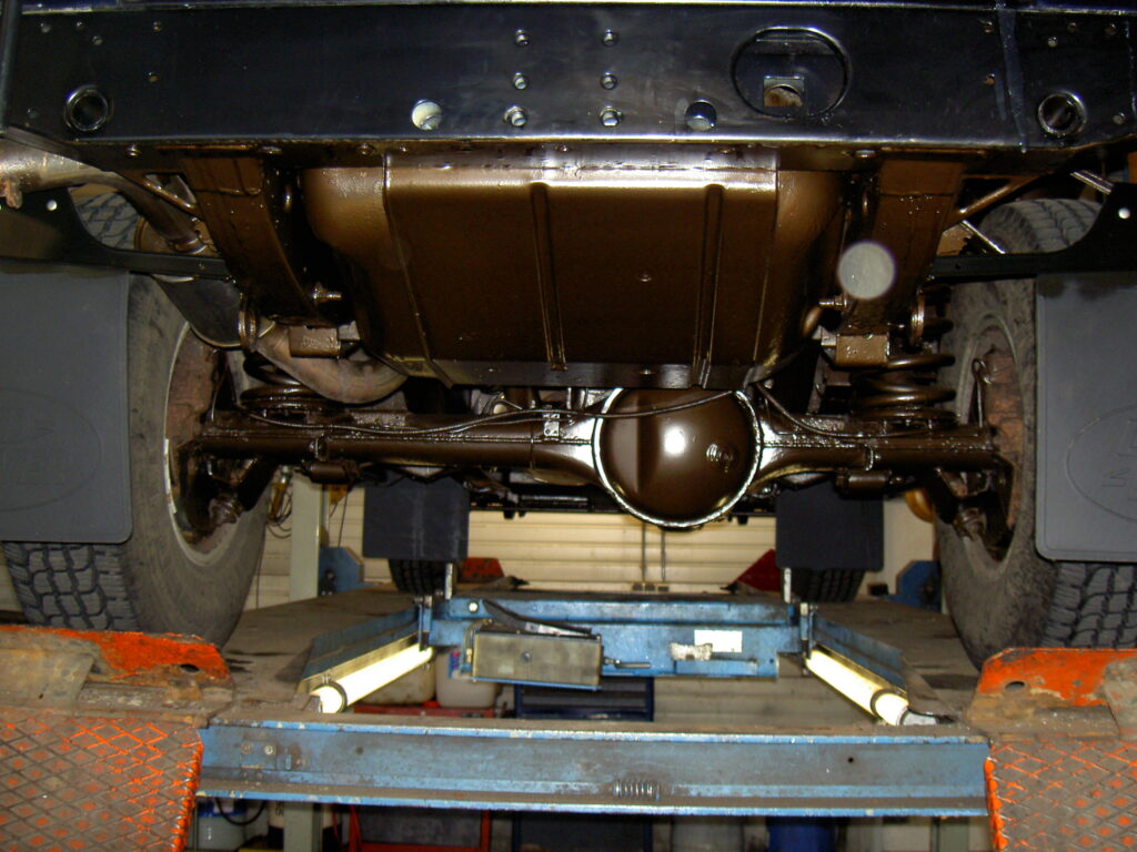 Land Rover Dinitrol behandeling