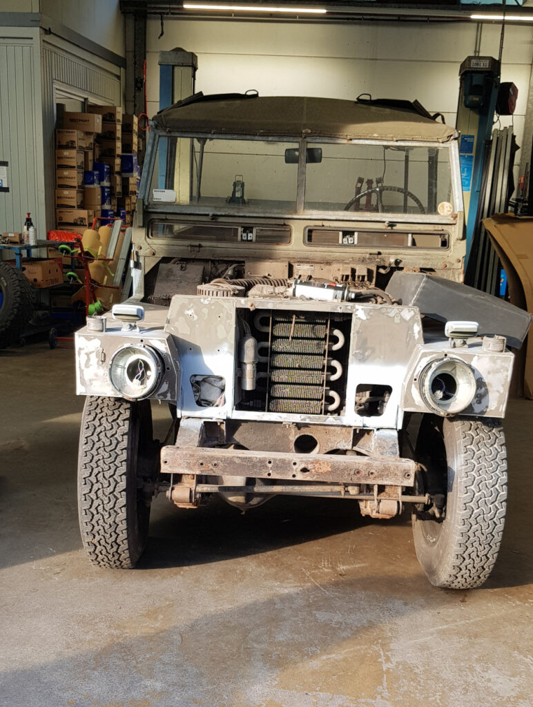 restauratie Land Rover series 3 Light Weight
