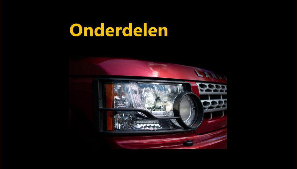 tegel Land Rover onderdelen
