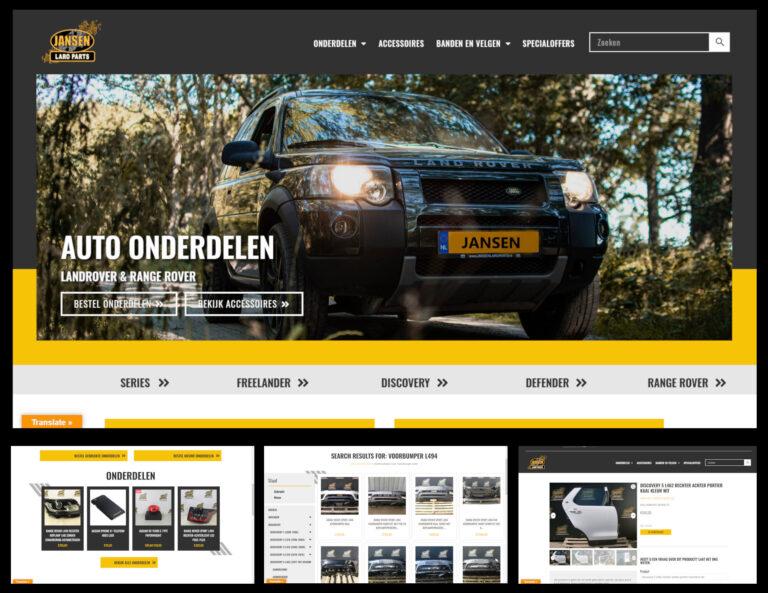 Webwinkel voorbeeld